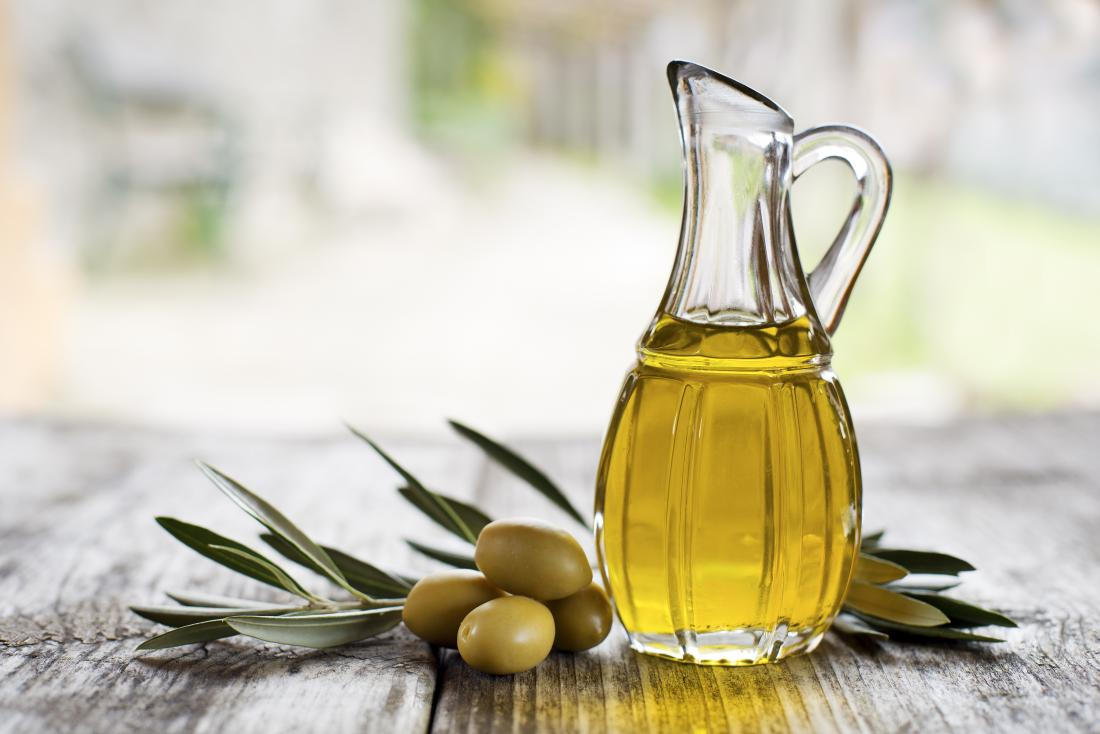 Extra virgin olive oil with olives from Cyprus