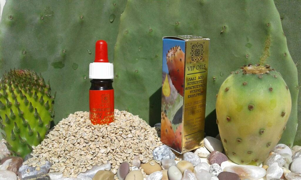 cypriot prickly pear seed oil